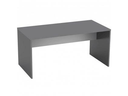 Psací stůl, grafit / bílá, RIOMA NEW TYP 16