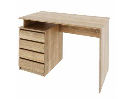 PC stůl, dub sonoma, HANY NEW
