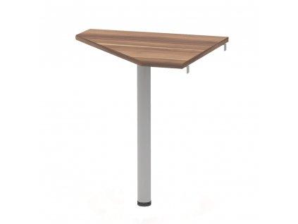 Rohový stolek, švestka/kov, JOHAN 2 NEW 06