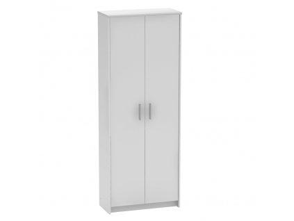 Kancelářská skříň, bílá, JOHAN 2 NEW 05