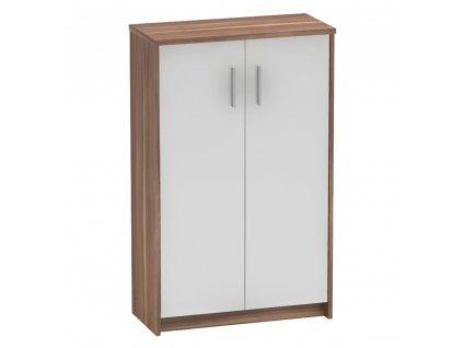 Kancelářská skříňka, švestka/bílá, JOHAN 2 NEW 13 JH033