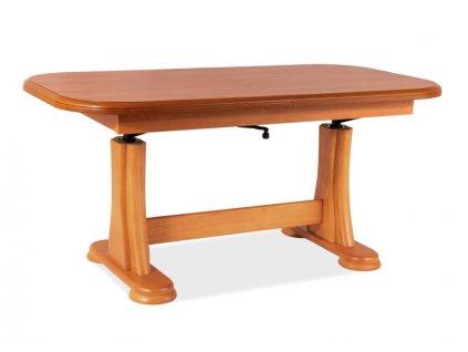 Nízký stolek Artur barva olše 127(164)x67x60(75)