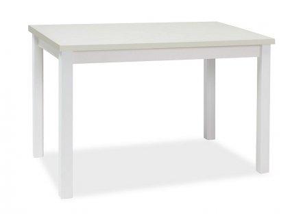 Stůl Adam bílý mat 100x60