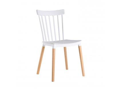 Jídelní židle BETA bílá