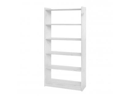 Knihovna 8011 bílý lak