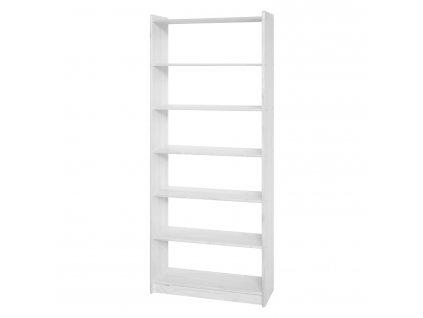 Knihovna 8012 bílý lak