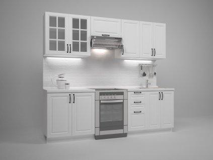 Michella kuchyně 240 bílá