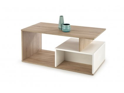 Combo stolek barva dub Sonoma/bílý