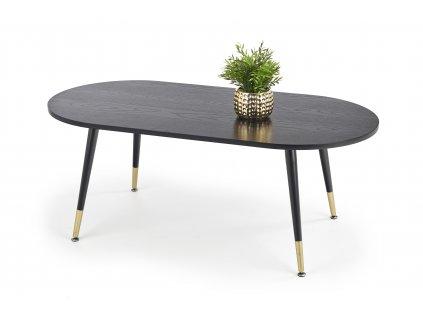 Embosa stolek černý / zlatý