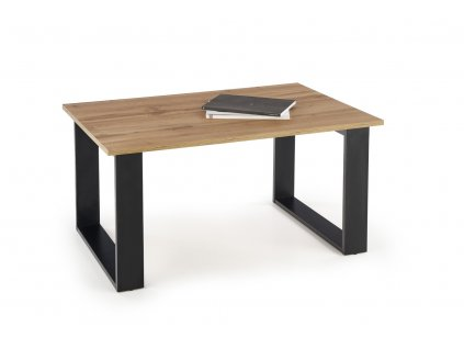 Libra stolek barva dub Wotan/černý
