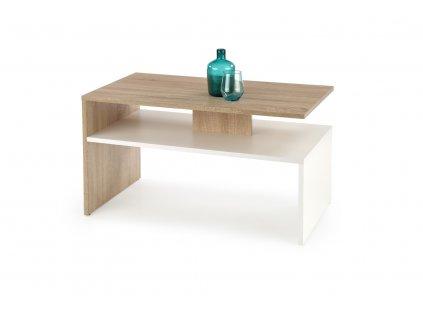 Sigma stolek barva dub Sonoma/bílý