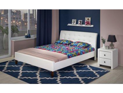 Samara 180 postel bílá