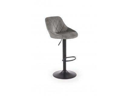 H101 barová židle šedá
