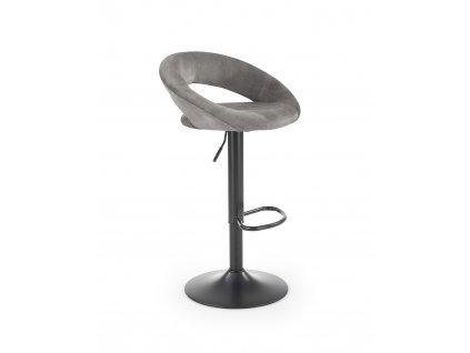 H102 barová židle šedá