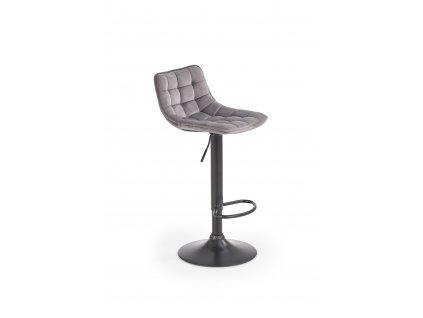 H95 barová židle šedá