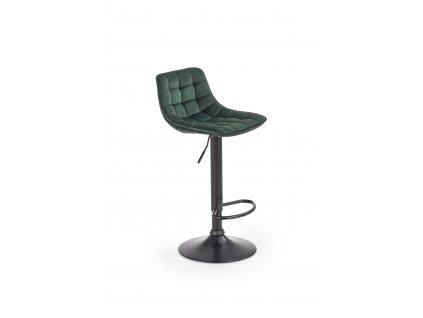 H95 barová židle tmavě zelená