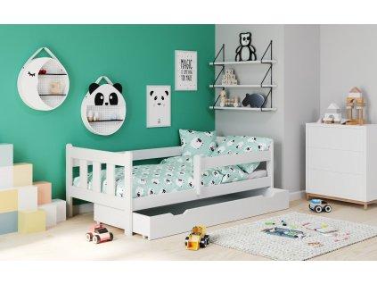 Marinella bílá postel