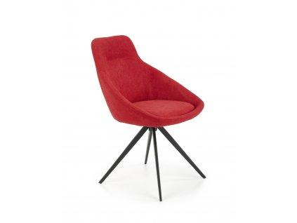 K431 židle červená
