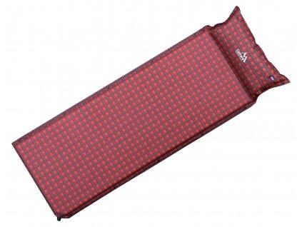 Karimatka samonafukovací 190x60x3,8cm s polštářem KILT