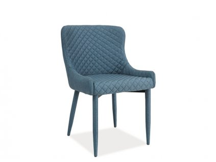 Židle COLIN denim materiál