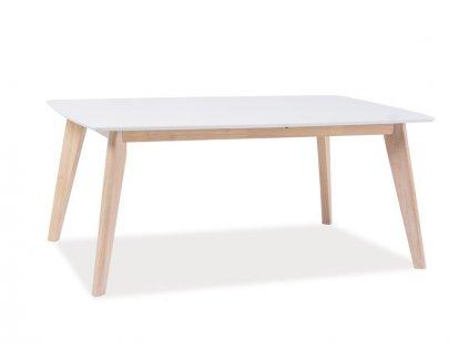 Konferenční stolek COMBO b dub bělený/bílá 110x60