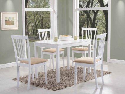 Stůl FIORD bílý 110x70
