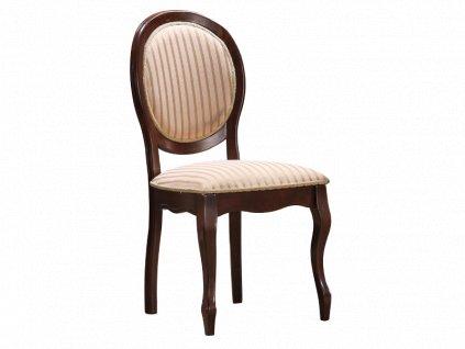 Židle FNSC tmavý ořech polstrování.19