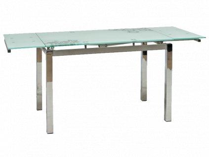 Stůl GD017 bílý 110(170)x74