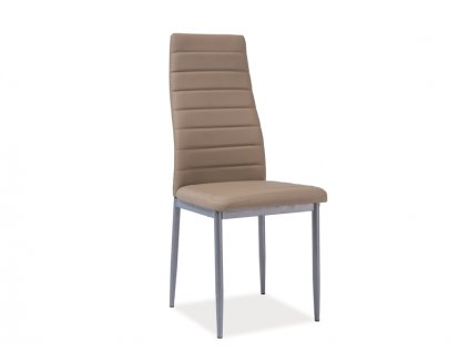 Židle H261 bis hliník rošt/tmavý bez
