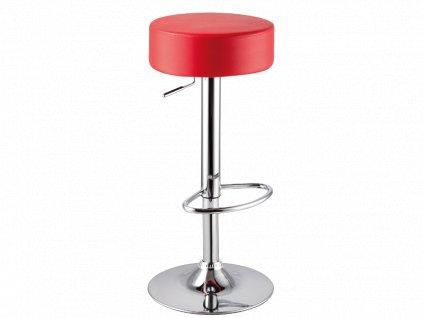 Barová židle A042 červený