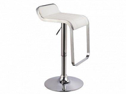 Barová židle C621 bílý