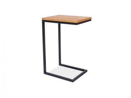 Konferenční stolek LARGO c dub/černá