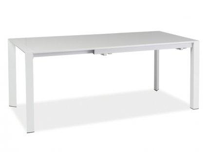 Stůl LUGANO bílý 130(250)x90