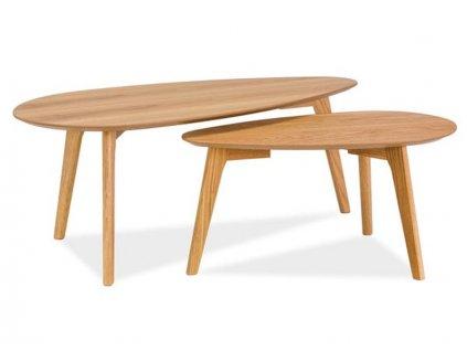 Konferenční stolek MILAN l2 dub/dub