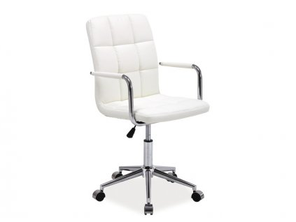 Křeslo otočné Q-022 bílé
