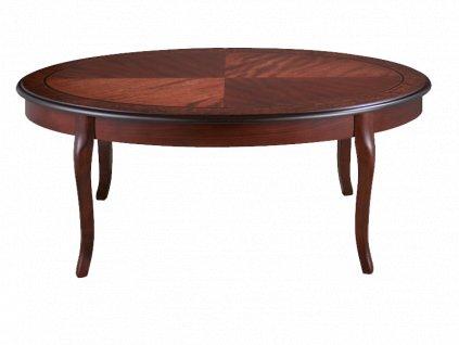Konferenční stolek ROYAL C tmavý ořech