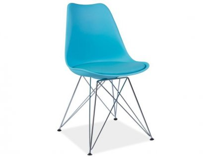 Židle TIM modrá