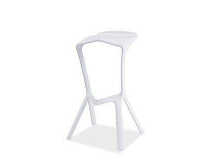 Barová židle VOLT bílá