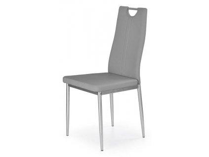 K202 židle šedá