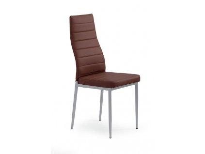 K70 židle tmavě hnědá