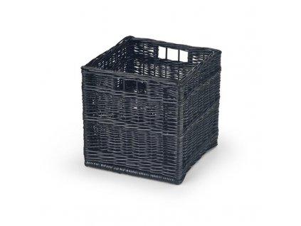 WOODY zásuvka černá