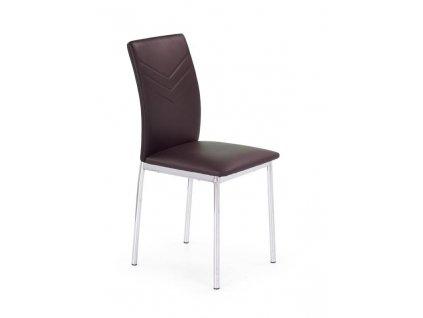 K137 židle hnědá