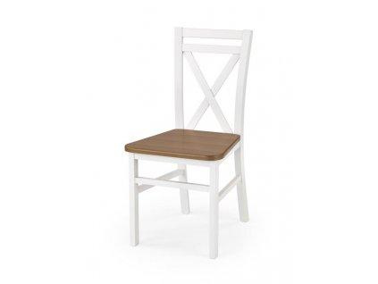 DARIUSZ2 židle bílá / olše