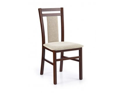 HUBERT8 židle tmavý ořech / Polstrování: Vila 2