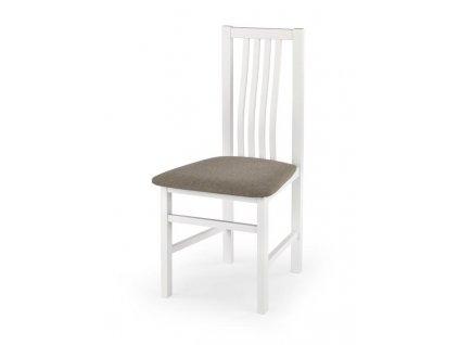 PAVEL židle bílá / Polstrování: Inari 23
