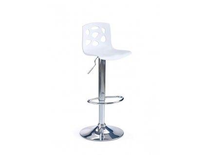 H48 barová židle bílá