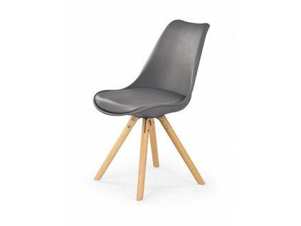 K201 židle šedá