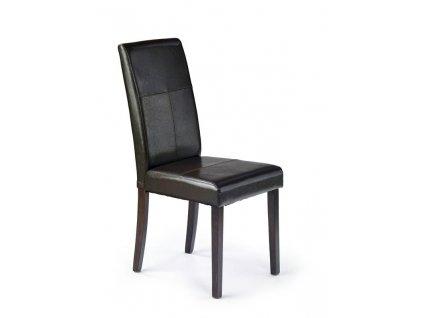 KERRY BIS židle wenge / tmavě hnědá