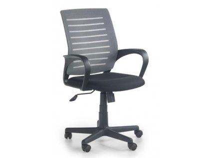 SANTANA křeslo kancelářské černo - šedé