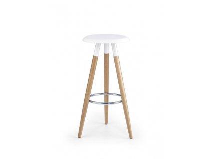 H50 barová židle bílá